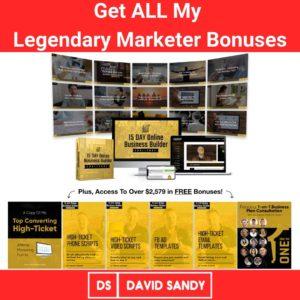 Best Legendary Marketer Bonus Offer