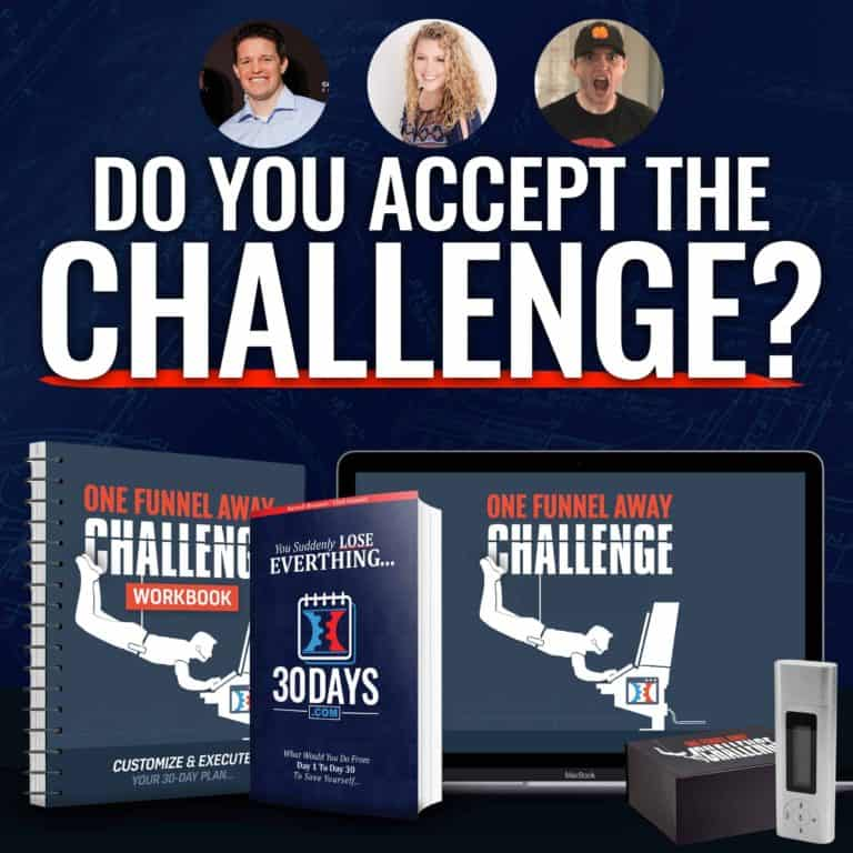 One Funnel Away Challenge | David Sandy Official