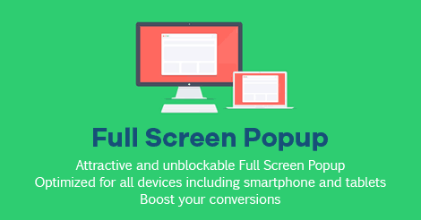 Screen Filler Overlay Popup