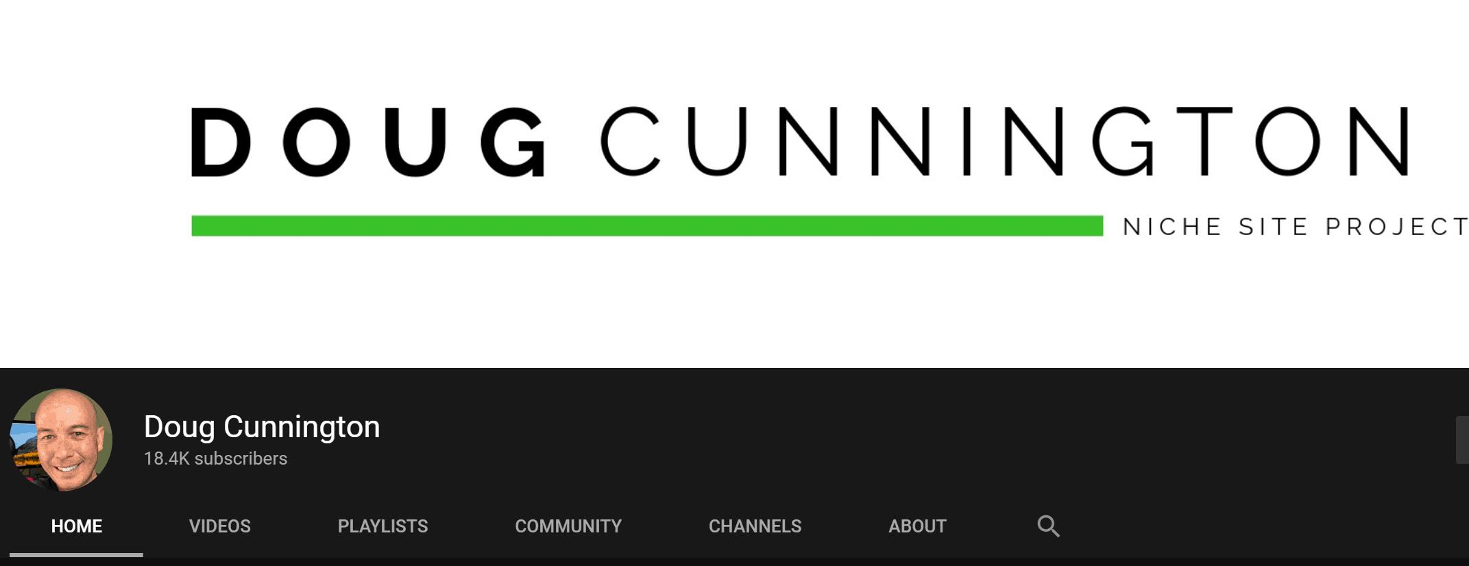 Doug Cunnington Youtube Channel