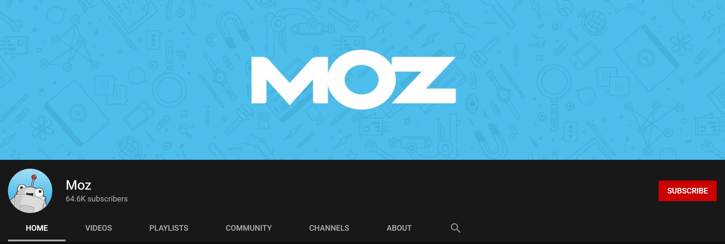 Moz Youtube Channel