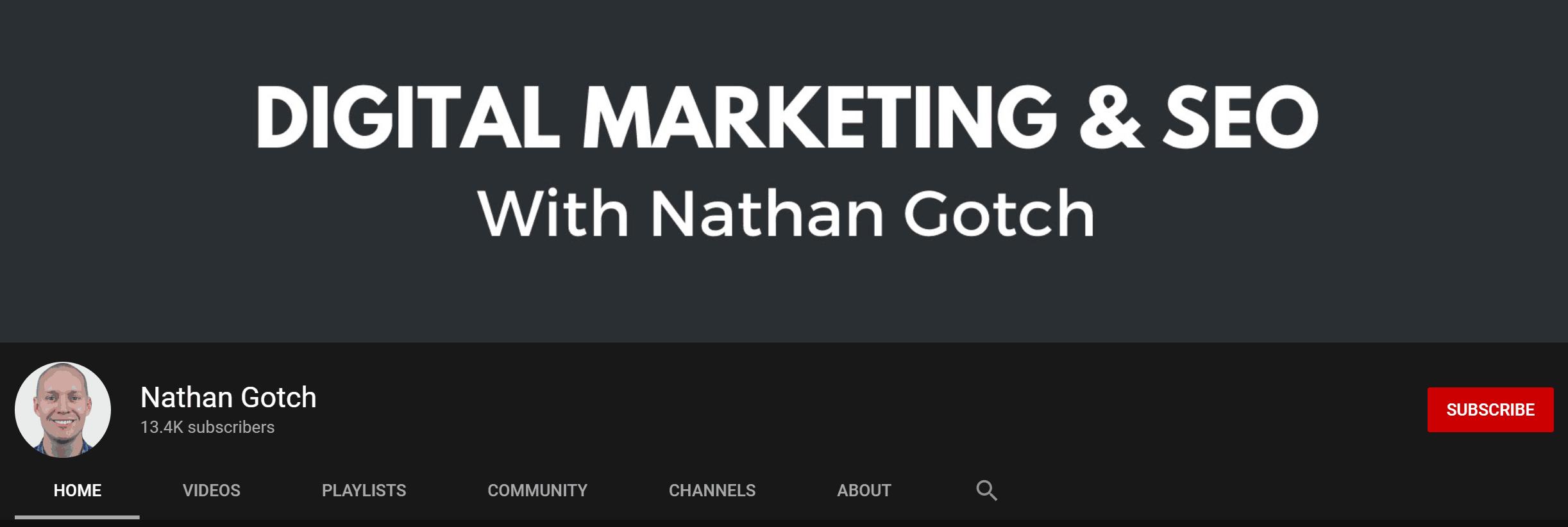Nathan Gotch Youtube Channel