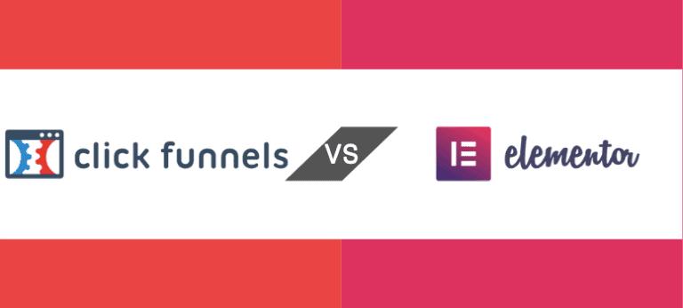 ClickFunnels vs Elementor