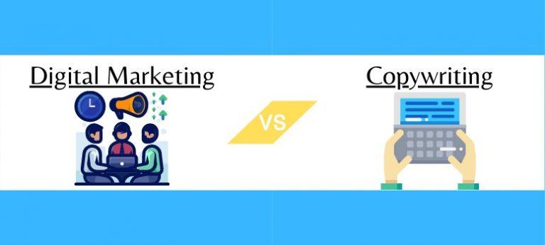 digital marketing vs copywriting wide