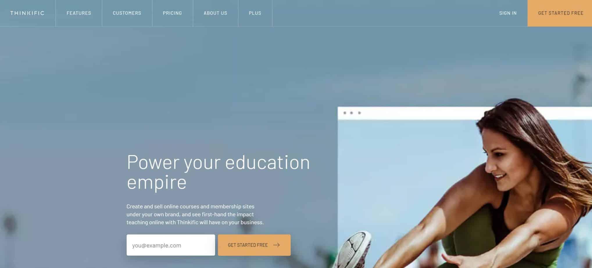 Thinkific Online Course Affiliate Program