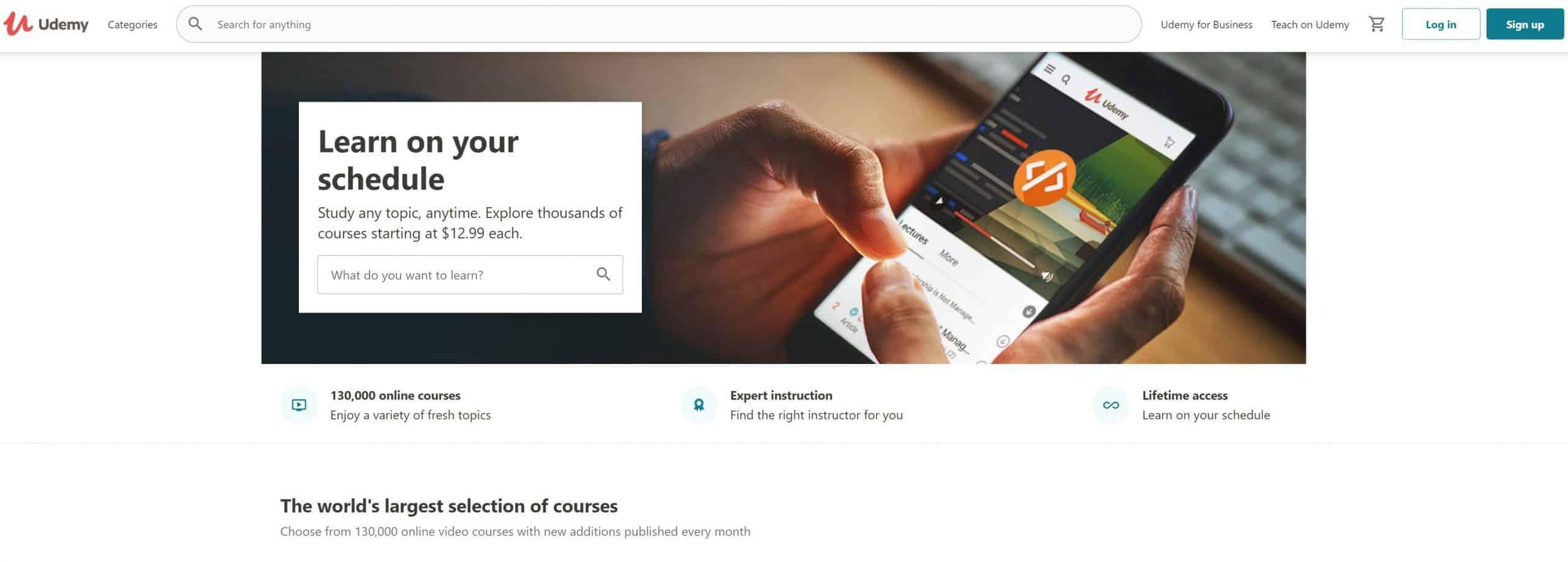 Udemy Online Course Affiliate Program